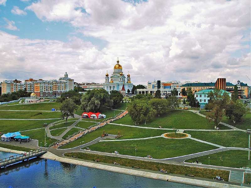 Pushkin's Park in Saransk